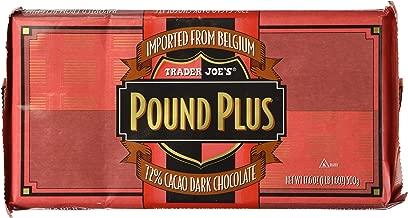 Trader Joe's Pound Plus 72% Dark Chocolate 17.6 oz.