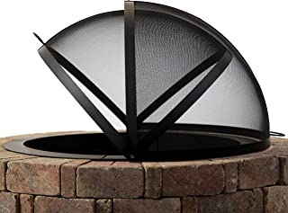 fire pit screen 48 inch