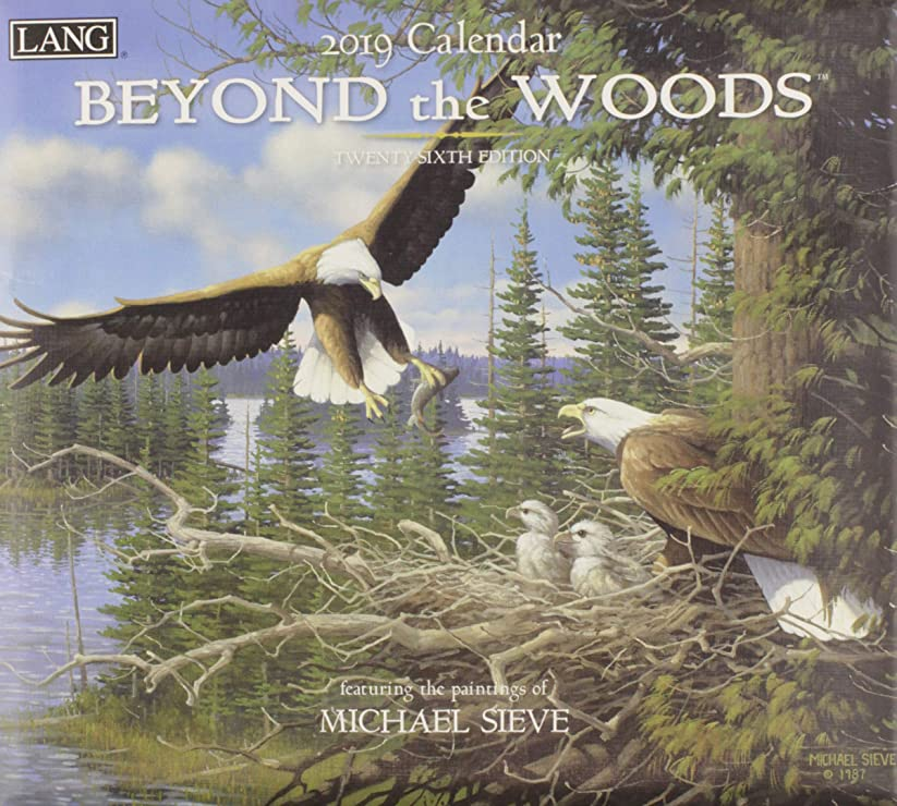 蜜歌耐えられるBeyond the Woods 2019 Calendar