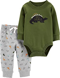 Carter's Baby Boys' Ruff to be Cute 2-Piece Layette Set