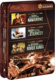WWII Original Movie Classics: (The Guns of Navarone/From Here to Eternity/The Bridge on the River Kwai)