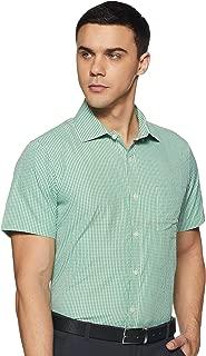 Excalibur by Unlimited Men's Formal Shirt (8907542557493_400016478501_39_Lt-Green)