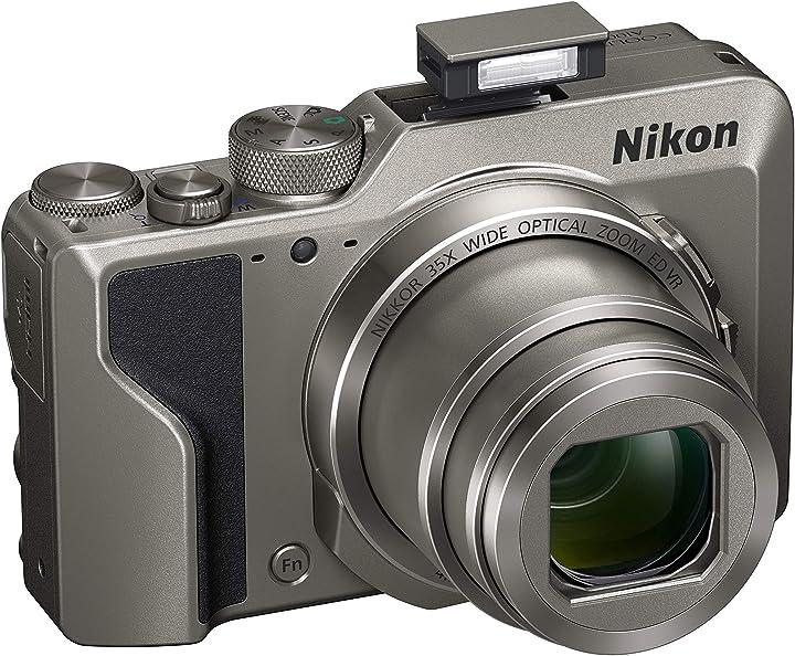 Fotocamera digitale compatta, 16 megapixel, zoom 35x, 4k nikon coolpix a1000 VQA081EA