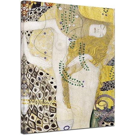 Die Hoffnung II Gl/änzend 40 x 30cm Bilderwelten Poster Wanddekoration Gustav Klimt
