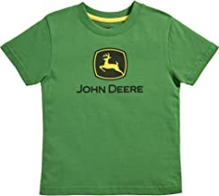 Genuine John Deere Per Bambini Marrone T-shirt con Trattore Kids Camicia