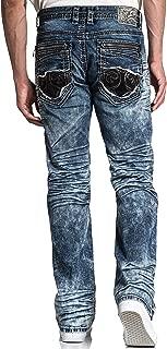 Blake Fleur Quincy Relaxed Straight Leg Denim Jeans for Men