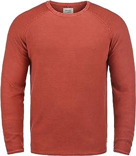 Blend Gabor Maglione Pullover Maglieria da Uomo con Girocollo in Cotone 100/%