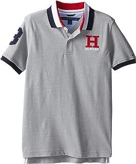 a8e8290b5458 Tommy Hilfiger Boys  Little Short Sleeve Solid Matt Polo Shirt