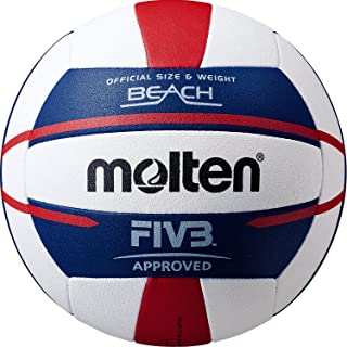 Molten FIVB Approved Elite Beach Volleyball Red/White/Blue