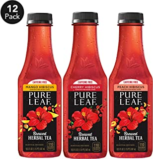 Pure Leaf, Herbals Variety Pack, 18.5 fl oz. bottles (12 Pack)