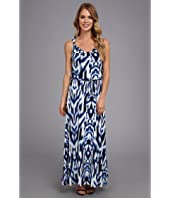 Calvin Klein - Print Maxi Dress w/ Hrd