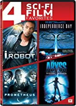 4 Sci-Fi Film Favorites I, Robot / Independence Day / Prometheus / The Abyss