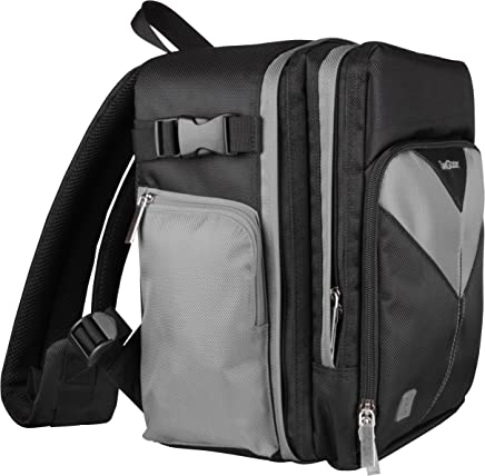 x2 Travel Carrying Nylon Backpack Bag for Canon PowerShot SX150 SX160 SX500 is and Mini Tripod SX40 SX50 Advance Camera and Screen Protector