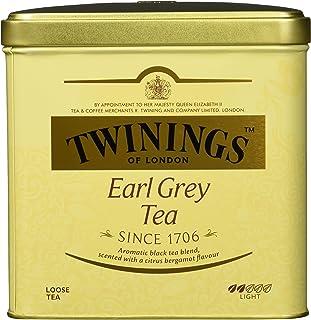 Twinings Earl Grey Schwarztee  Große Dose  Hochwertiger Schwarzer Tee lose  Mit Bergamotte Aroma  Tea 1er Pack 1 x 500 g
