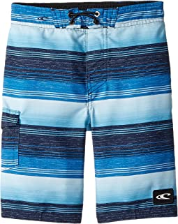 Santa Cruz Stripe Boardshorts (Toddler/Little Kids)