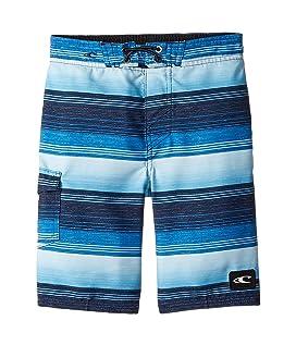 Santa Cruz Stripe Boardshorts (Toddler/Little Kids)