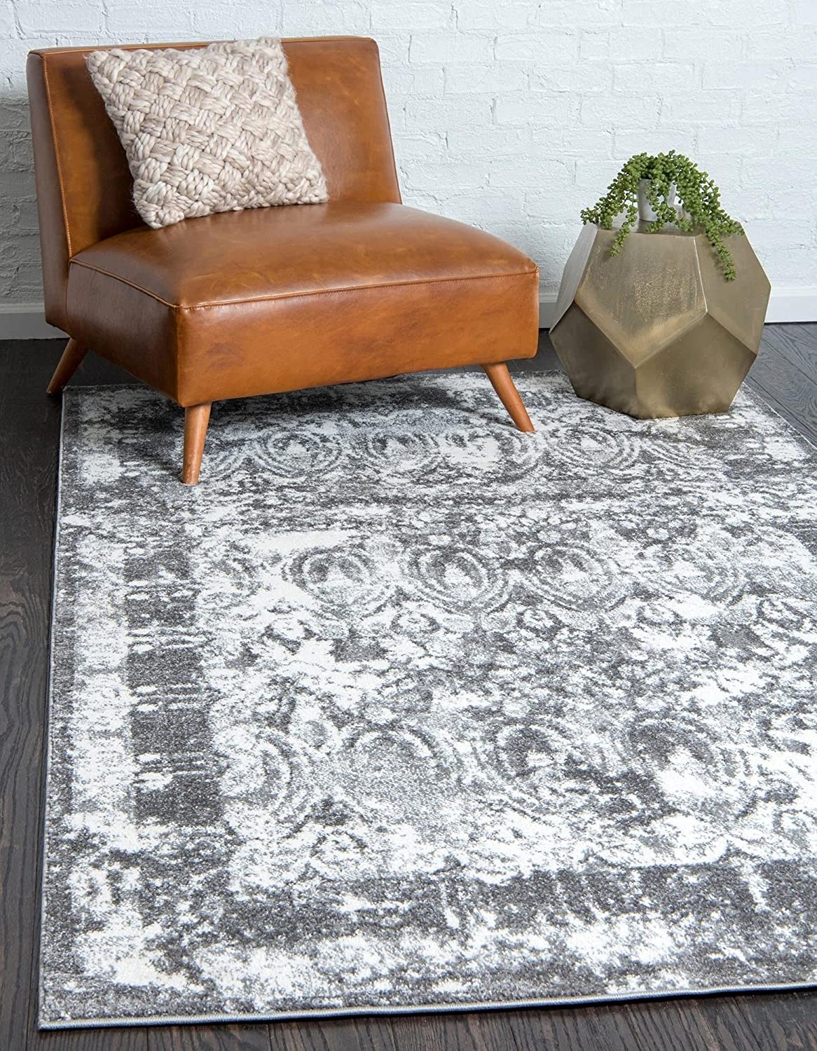 Sale price Unique Loom Rosso Collection Attention brand B Vintage Distressed Traditional