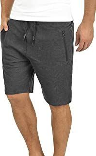 !Solid Taras Herren Sweatshorts Kurze Hose Jogginghose Mit Verschließbaren Eingriffstaschen Und Kordel Regular Fit