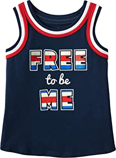 Way To Celebrate Toddler Little Girls to Be Me Tank Top