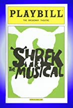 Shrek The Musical, Broadway Playbill + Brian d'Arcy James, Sutton Foster, Christopher Sieber, John Tartaglia, Daniel Breaker