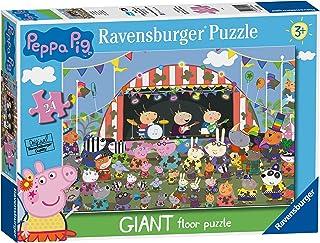 Ravensburger 030224 Puzzle Peppa Pig - 24 Piezas Giant Puzzle, Rompecabezas para Niños y Niñas, Edad Recomandada 3+
