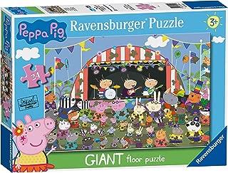 Ravensburger 3022 Peppa Pig Family Celebrations, 24pc Giant Floor Jigsaw Puzzle,