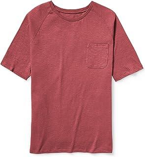 Men's Big & Tall Short-Sleeve Slub Raglan Crew T-Shirt fit by DXL