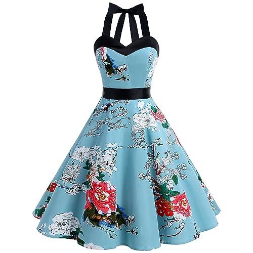 DRESSTELLS Vintage 1950s Rockabilly Polka Dots Audrey Dress Retro Cocktail  Dress 91e18aba6f2e