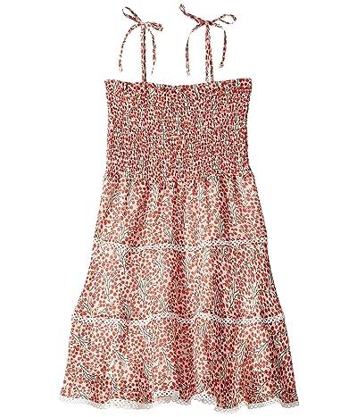 Bardot Junior Cindy Shirred Dress (Big Kids) (Cherry Print) Girl