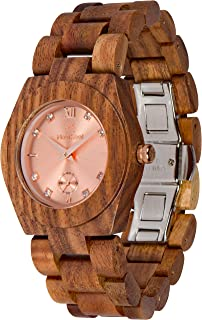 Wooden Watch Hana Collection for Women Analog Wood Watch Bamboo Box