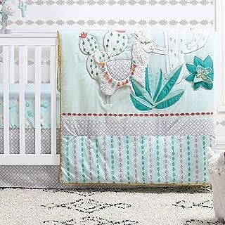 baby crib bedding sets green
