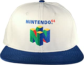 Officially Licensed Nintendo 64 Logo Snapback Hat