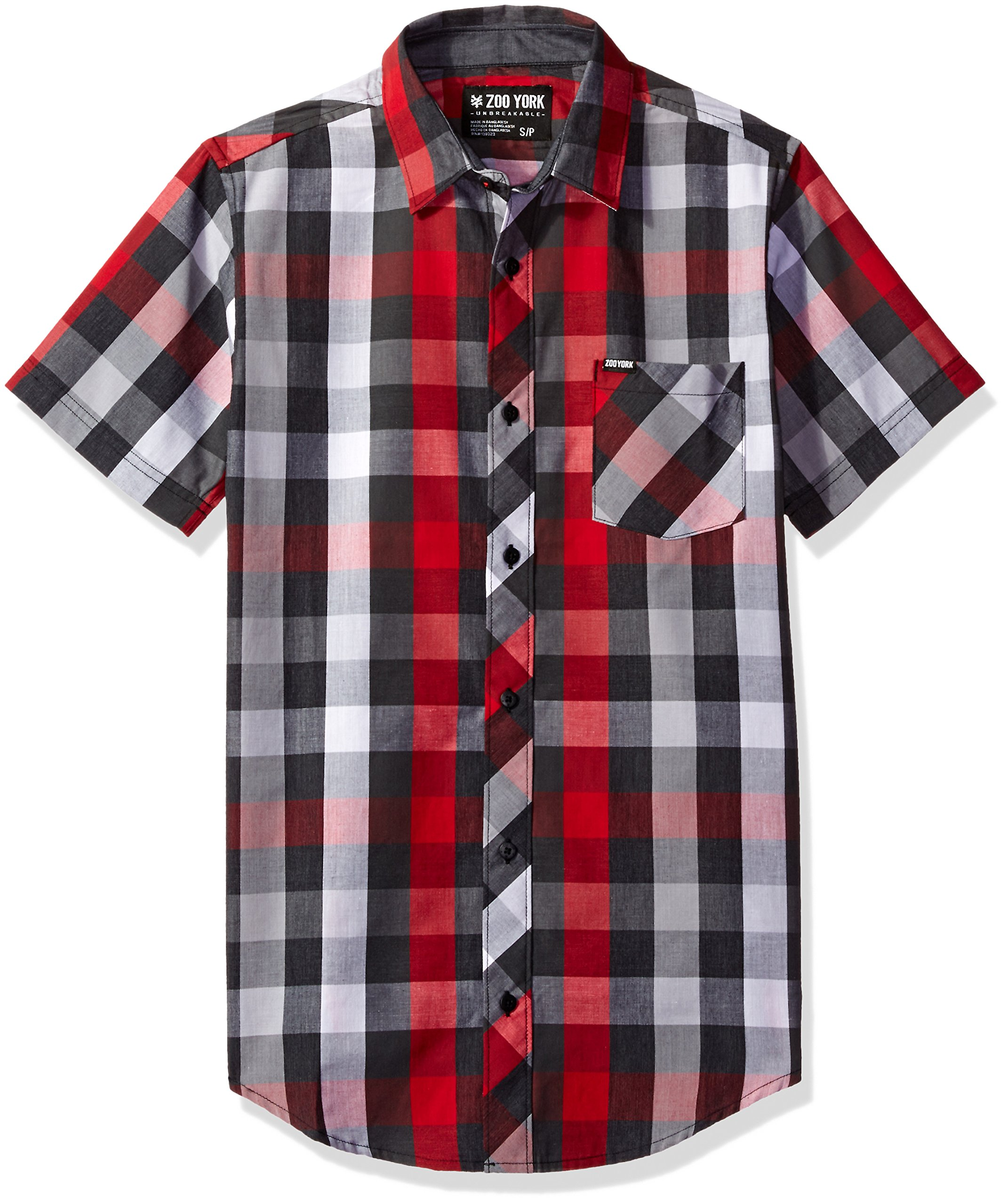 Zoo York Mens Straight To The Moon Short Sleeve T-Shirt