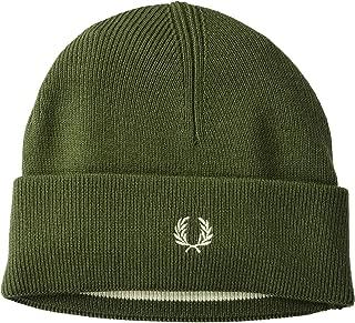 Unisex-Adult's Merino Wool Beanie, Olive, ONE Size