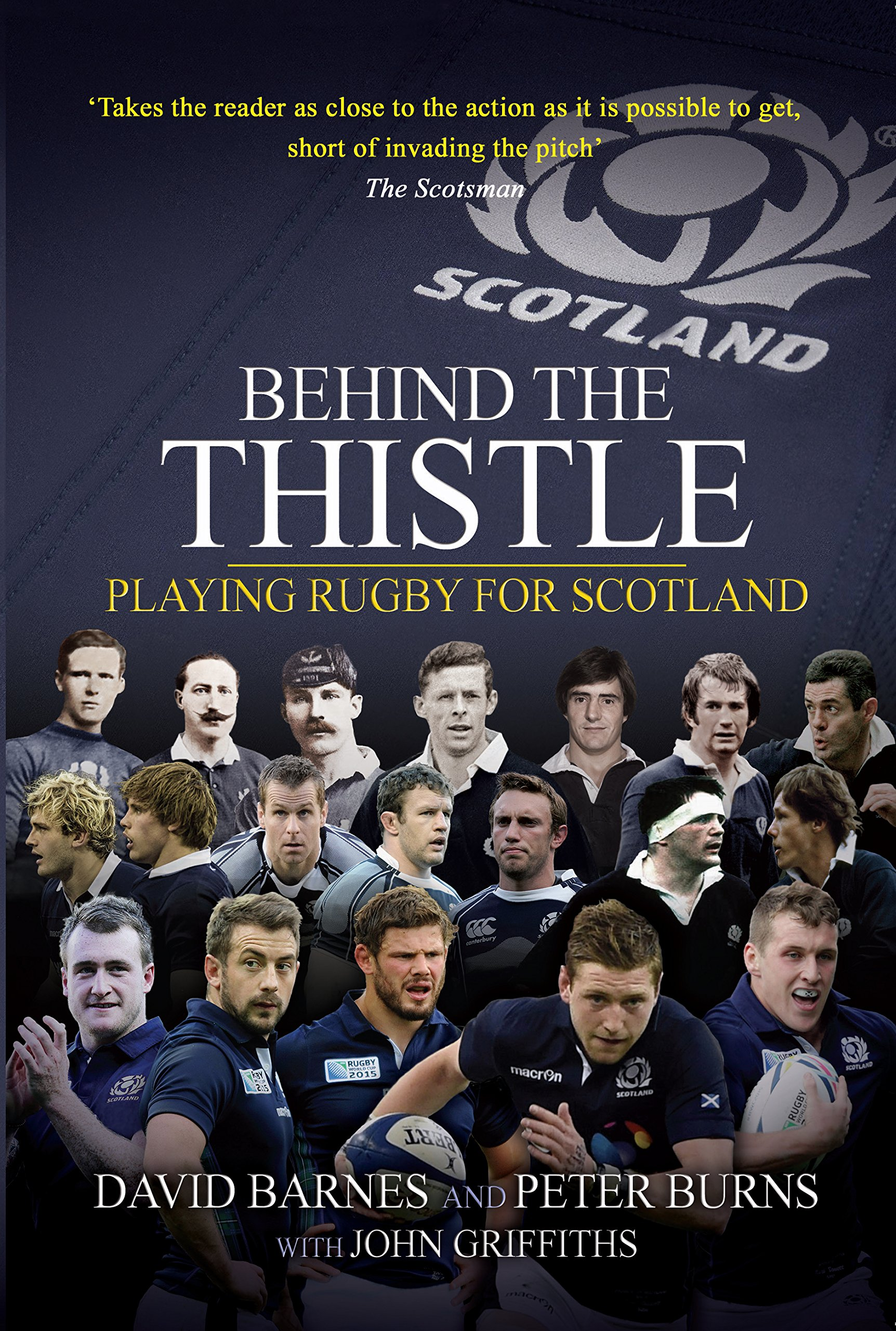 Download Behind The Thistle: Playing Rugby For Scotland (Behind The Jersey Series) (English Edition) 