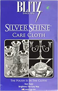Blitz Silver Care Silver Polishing Cloth