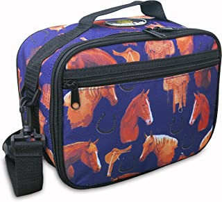 Horse Lunchbox DELUXE BROAD BAY Horse Lunch Bag Cooler TOP QUALITY