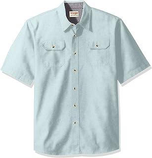 Wrangler Authentics Men's Short Sleeve Classic Woven Shirt