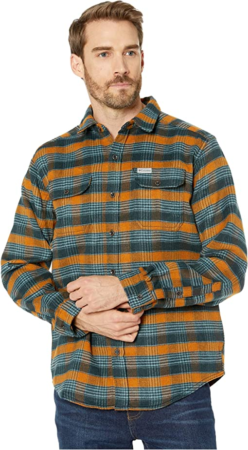 Burnished Amber Medium Plaid