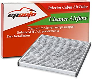 EPAuto CP132 (CF10132) Replacement for Toyota/Lexus Premium Cabin Air Filter includes Activated Carbon