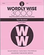 Wordly Wise, Grade 3 Test Booklet