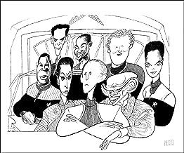 Al Hirschfeld's STAR TREK: DEEP SPACE NINE Hand Signed Limited Edition Lithograph