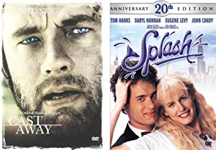 Tom Hanks Double Feature - Splash & Cast Away 2-DVD Bundle