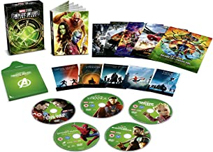 Marvel Studios Phase 3 Part 1 2018 | USA Non-Compatible Product | Region - 2