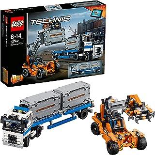 مكعبات بناء تيكنيك على شكل ساحة حاويات من ليجو 42062 - 631 قطعة
