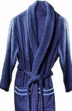 atenas home textile Albornoz de baño, Azul, XL