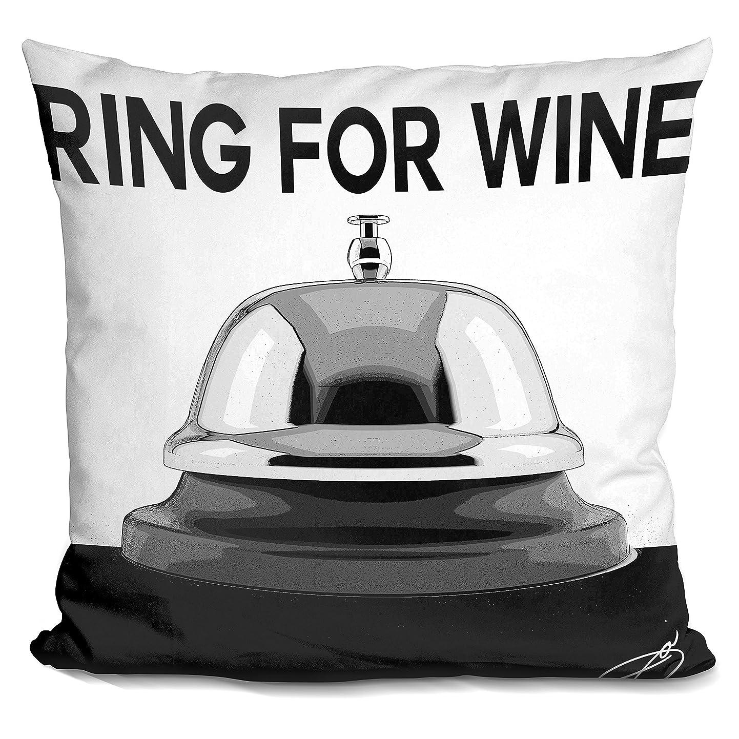 賢い害くるみLiLiPi「ワイン用リング装飾アクセントスローピロー