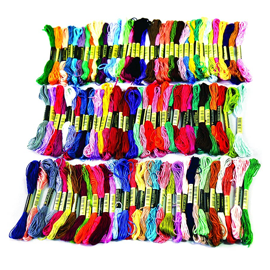 YazyCraft Embroidery Giant Best Value Floss Pack 8m (105pcs)