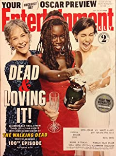 Entertainment Weekly Magazine (September 29, 2017) The Walking Dead 100th Episode - Michone, Carol and Maggie Cover 2 of 3