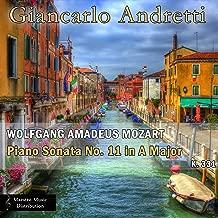 mozart piano sonata 11 in a major